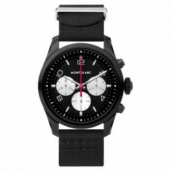 MONTBLANC SUMMIT 2 42MM NYLON NEGRE